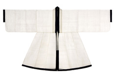 The Costume, the Pattern of Joseon Dynasty: Confucian Scholars' Ceremonial Robe, White Sim-ui
