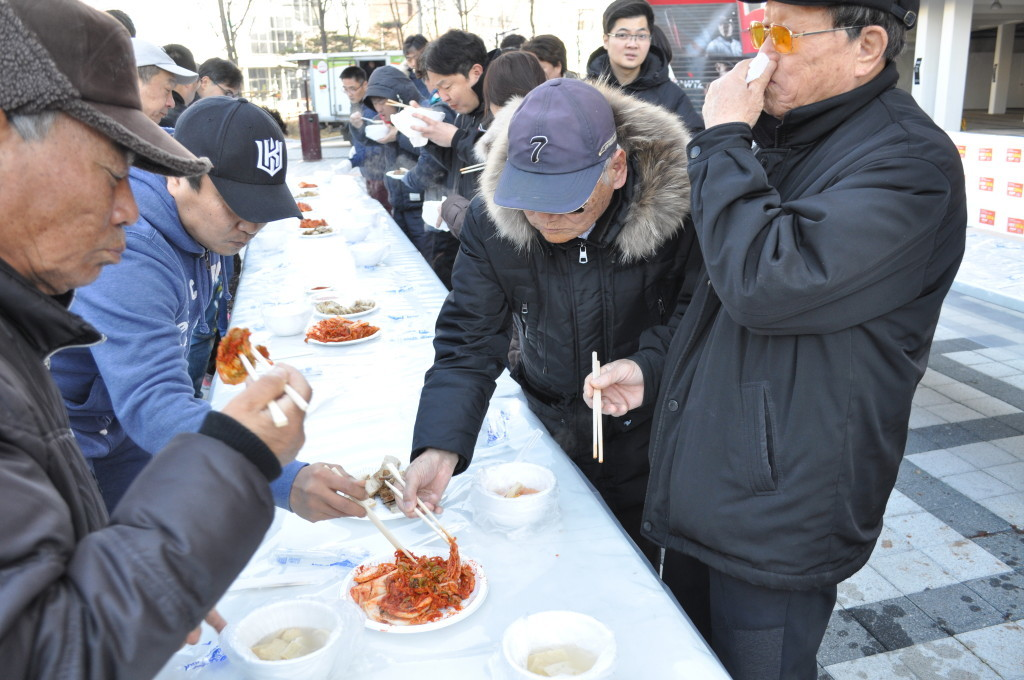 Gimjang Charity Event and Art Flea Market - Gyeonggi Cultural Foundation and KT Wiz (1)