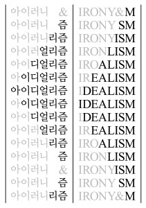 Korea-Germany Contemporary Art Exchange Exhibition《Irony & Idealism》 3rd Rotation, Germany