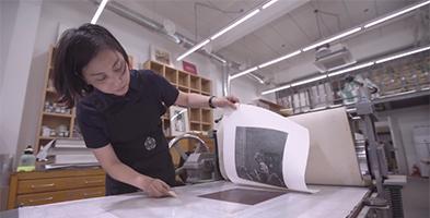 DO PRINT! – Copper Plate Printing Process by Hong-Shik Kim.