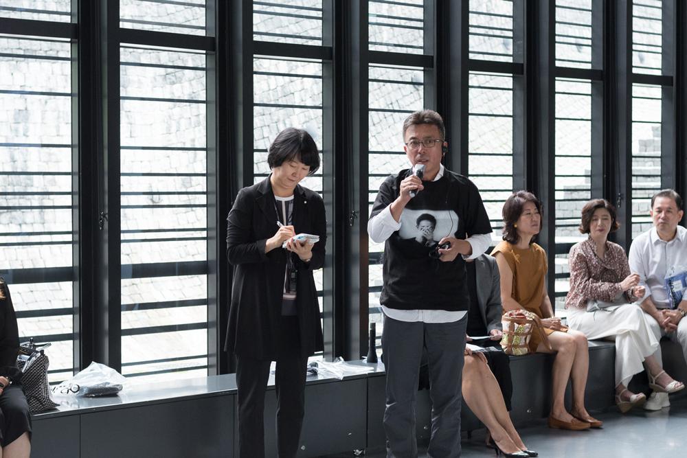 international exchange exhibition 《Datumsoria》, 《Edge of Now》 Opening
