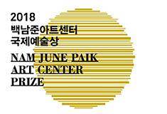 Winner of the Nam June Paik Art Center Prize 2018