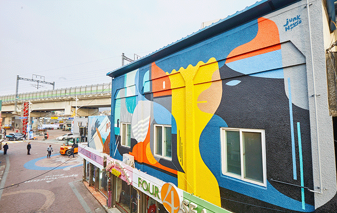 Dongducheon_Graffiti Art and Korean Popular Music